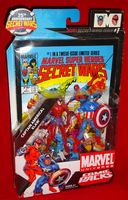 Marvel Universe Comic Packs: Captain America & Klaw - Action Figure 2-Pack Sealed on Card